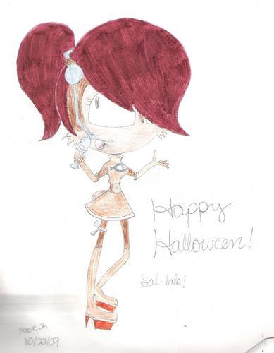 Sally dressed as Ulala! :D