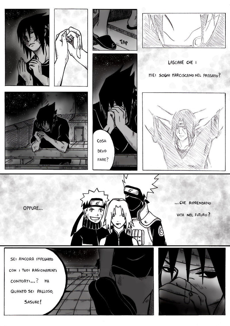 Sasuke Manga  Fanfiction