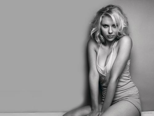 Scarlett Johansson wallpaper containing a maillot and a leotard titled Scarlett Johansson