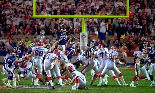 Scott Norwood's missed Field goal vs. Giants