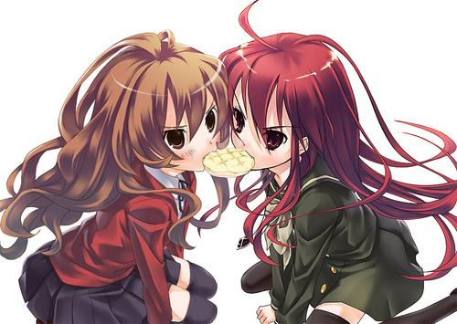 ragazze Anime wallpaper called Shana and Taiga