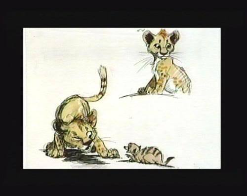 Simba Concept Art