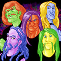 Skittlesklok - metalocalypse fan art