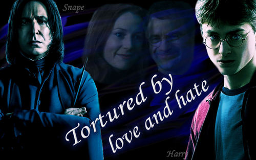 Snape and Harry - Tortured por amor and hate