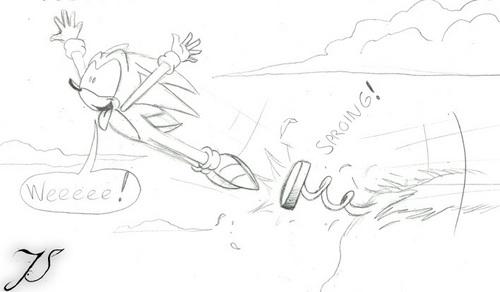 Sonic got sprung