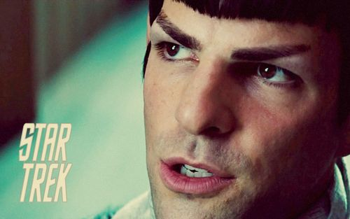 Zachary Quinto wallpaper with a portrait titled Spock from Zachary Quinto
