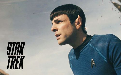 Zachary Quinto wallpaper possibly containing a portrait titled Spock from Zachary Quinto