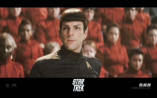 Zachary Quinto wallpaper with a televisão receiver and a high definition televisão titled Spock from Zachary Quinto