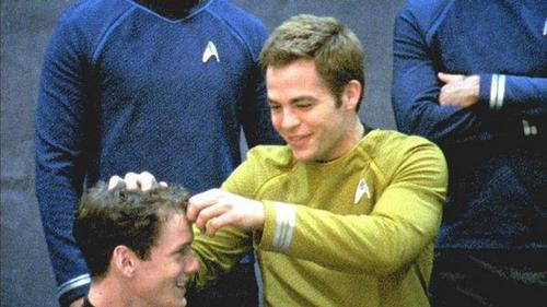 étoile, star Trek - Behind The Scenes