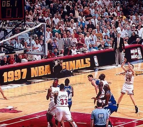 Steve Kerr's winning shot