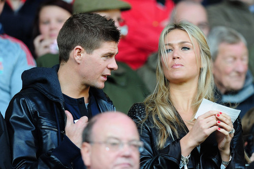 Steven & Alex Gerrard :))))))so cute:))))) - wags Photo