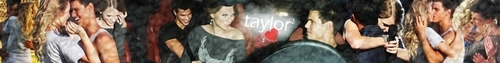 Taylor Lautner and Taylor Swift photo called T+T Banner