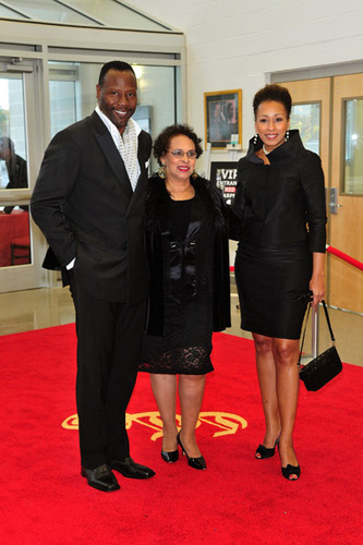 Tamara, her mother & husband Greg - tamara-tunie Photo