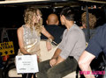 Taylor Lautner Visits Taylor Swift At Music Video Shoot