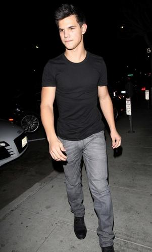Taylor snel, swift Taylor Lautner Shopping datum