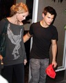 Taylor and Taylor Have Dinner   - twilight-series photo