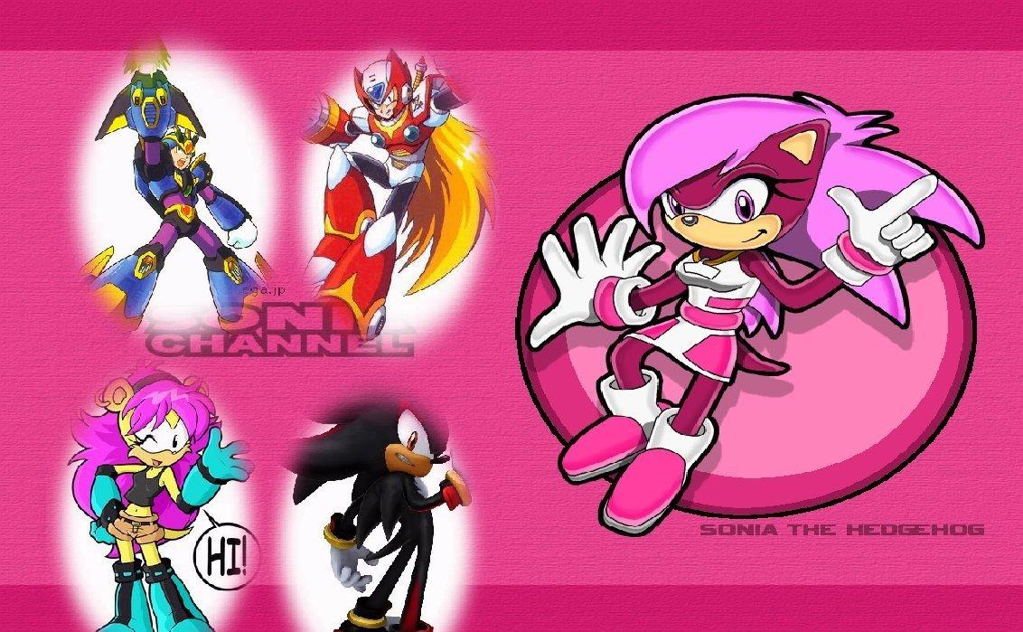 Sonia The Hedgehog Sonic X