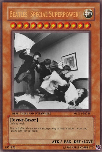 The Beatles Card