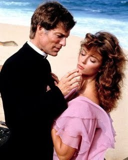 The Thorn Birds achtergrond with a business suit and a portrait titled The Thorn Birds