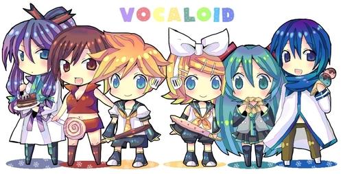 The Vocaloids!