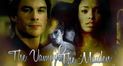 The vampire and the maiden - damon-and-bonnie Photo