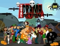 Total Drama Halloween - total-drama-island fan art