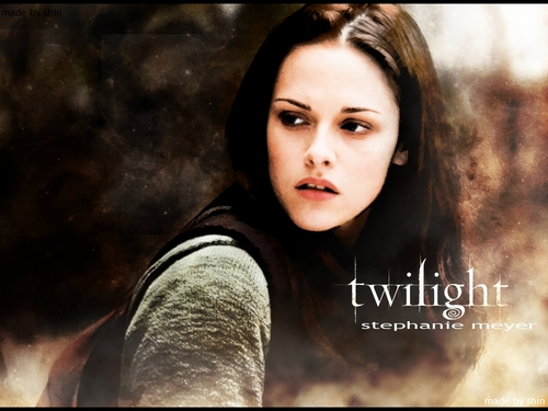 Twilight Movie wallpaper containing a portrait entitled Twilight Bella Fan wallpaper