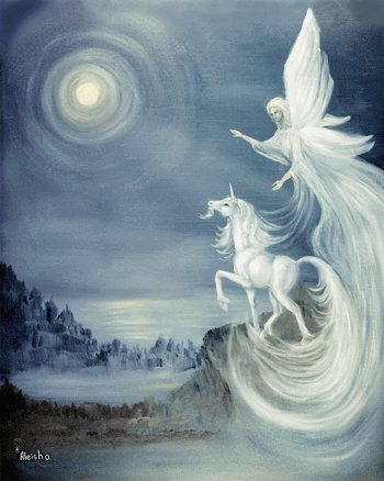 Unicorn and অ্যাঞ্জেল