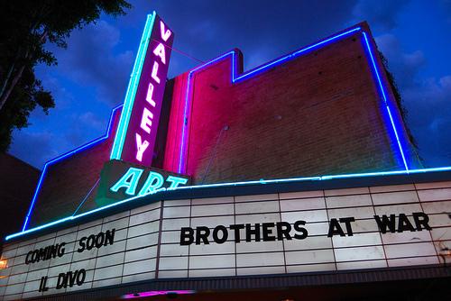 Valley Art Movie Theater Marquee Movie Theaters Photo