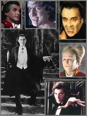 Various Dracula collage