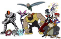 Villains - teen-titans fan art