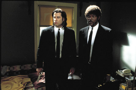Vincent and Jules - pulp-fiction Photo