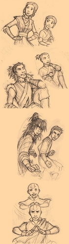 Who Knows What We May Become.. - avatar-the-last-airbender Fan Art