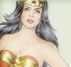 Wonder Woman photo containing a portrait entitled Wonder Woman