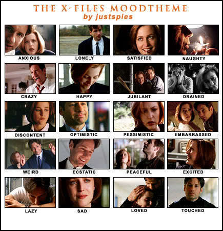 The X-Files 壁纸 titled X-Files Moodtheme