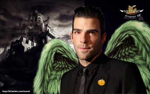 Zachary Quinto wallpaper entitled ZQ's vampire look