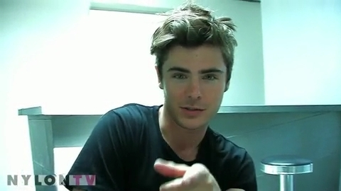 Zac Efron wallpaper containing a portrait titled Zac Efron - Nylon Behind The Scenes