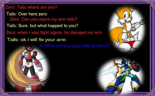 Zero talking to tails