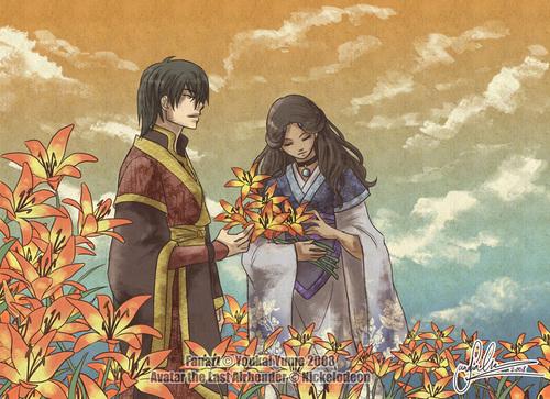 Zutara - আগুন Lilies