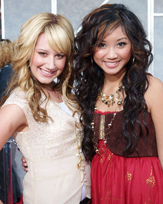Brenda Song And Ashley Tisdale Ashley Tisdale and Bre...