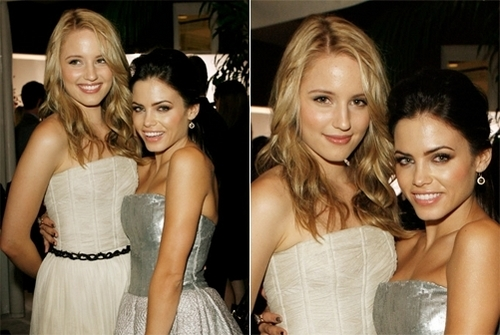 Dianna Agron wallpaper with a bridesmaid, a dinner dress, and a gown called dianna
