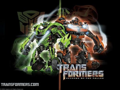 transformers wallpaper with anime entitled green and jeruk, orange