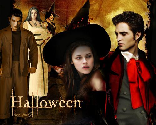 हैलोवीन वॉलपेपर - twilight cast