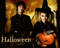 halloween wallpaper - twilight cast - twilight-crepusculo wallpaper