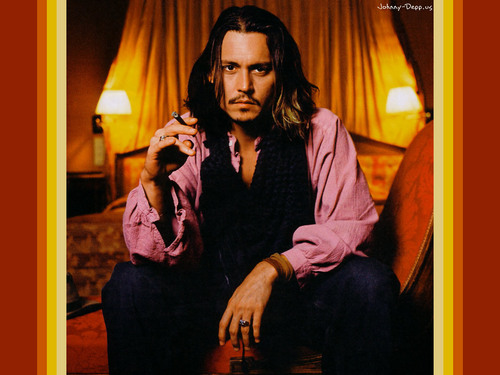 Johnny Depp wallpaper containing a well dressed person and an outerwear called johnny