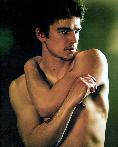 Josh Hartnett achtergrond with skin and a homp, stoere binken called josh hartnett
