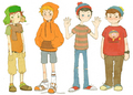 kyle, kenny, stan,cartman - south-park photo