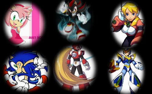 megaman x and sonic