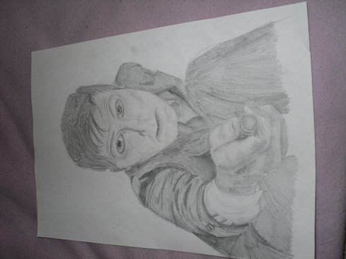 my drawing of the doctor