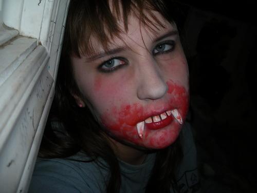 my halloween makeup - mrshcuckbass